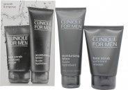 Clinique for Men Smooth and Improve Set de Regalo 100ml Exfoliante Facial + 100ml Loción Hidratante
