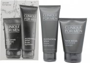 Clinique For Men Set de Regalo 200ml Gel Facial + 100ml Limpiador Facial + 100ml Hidratante SPF21 + 5ml Gel Ojos Anti-Fatiga