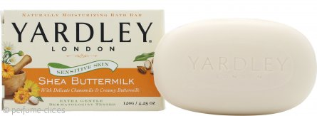 Yardley Shea Buttermilk Jabón 120g