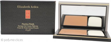 Elizabeth Arden Flawless Finish Crema Maquillaje con Esponja 19g Miel