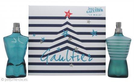 Jean Paul Gaultier Le Male Set de Regalo 125ml EDT + 125ml Loción Aftershave