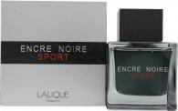 Lalique Encre Noire Sport Eau De Toilette 100ml Vaporizador