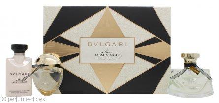 Bvlgari Mon Jasmin Noir Set de Regalo 50ml EDP + 40ml Loción Corporal + 15ml EDP