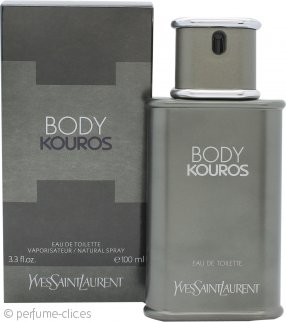 Yves Saint Laurent Body Kouros Eau de Toilette 100ml Vaporizador