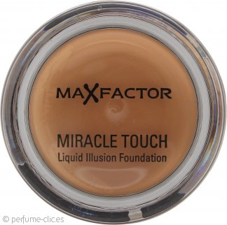 Max Factor Miracle Touch Liquid Illusion Base 85 (Caramelo) 11.5g