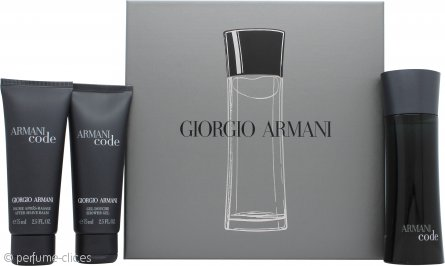 Giorgio Armani Code Set de Regalo 50ml EDT + 75ml Gel de Ducha + 75ml Aftershave