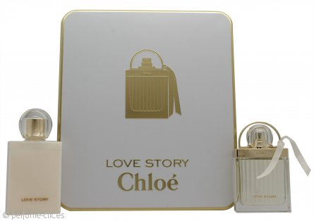 Chloe Love Story Set de Regalo 50ml EDP + 100ml Loción Corporal