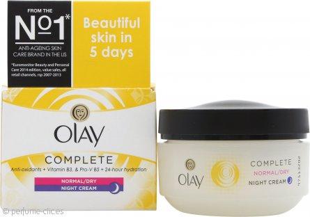 OLAY Complete Care Night Crema 50ml Piel Seca/Normal/Grasa