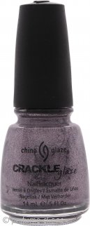 China Glaze Crackle Glaze Laca de Uñas Latticed Lilac 14ml