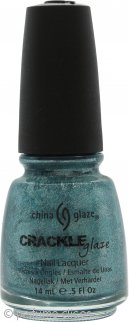 China Glaze Crackle Glaze Laca de Uñas 14ml Oxidised Aqua 1047