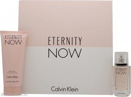 Calvin Klein Eternity Now For Her Set de Regalo 30ml EDP Vaporizador + 100ml Loción Corporal