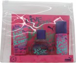 Puma Jam Woman Set de Regalo 40ml EDT + 50ml Gel de Ducha + 50ml Desodorante en Vaporizador