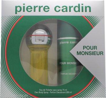 Pierre Cardin Pour Monsieur Set de Regalo 75ml EDT + 200ml Desodorante Vaporizador