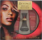 Beyonce Heat Kissed Set de Regalo 30ml EDP + 75ml Loción Corporal + 75ml Gel de Ducha