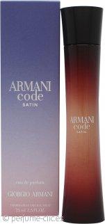 Giorgio Armani Armani Code Satin Eau de Parfum 75ml Vaporizador