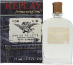 Replay Jeans Original for Him Eau de Toilette 75ml Vaporizador