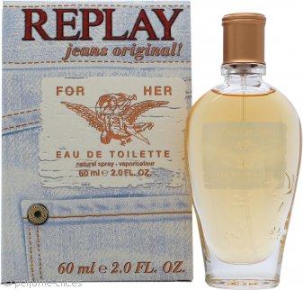 Replay Jeans Original for Her Eau de Toilette 60ml Vaporizador