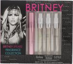 Britney Spears Fragrance Collection Set de Regalo 10ml EDP Fantasy + 10ml EDP Midnight Fantasy + 10ml EDP Curious + 10ml EDP Radiance