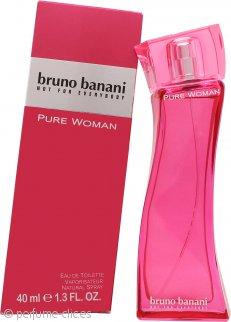 Bruno Banani Pure Woman Eau de Toilette 40ml Vaporizador