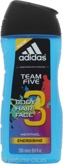 Adidas Team Five Gel de Ducha 200ml - Edición Limitada