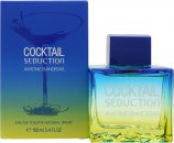 Antonio Banderas Cocktail Seduction Blue Eau de Toilette 100ml Vaporizador