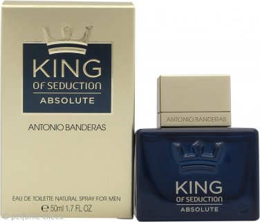 Antonio Banderas King of Seduction Absolute Eau de Toilette 50ml Vaporizador
