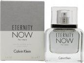 Calvin Klein Eternity Now For Men Eau de Toilette 30ml Vaporizador