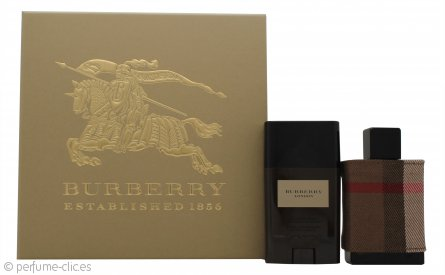 Burberry London Set de Regalo 50ml EDT + 75g Desodorante en Barra
