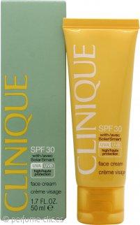 Clinique Sun Protection SPF30 Crema Facial con Tecnología Solar 50ml