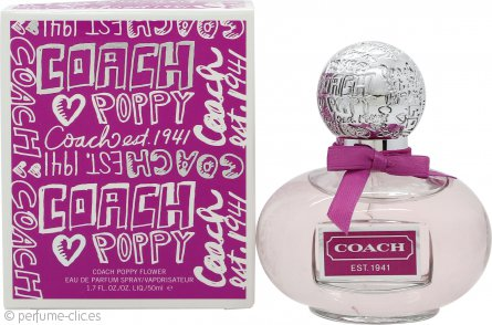 Coach Poppy Flower Eau de Parfum 50ml Vaporizador