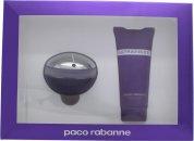 Paco Rabanne Ultraviolet Set de Regalo 80ml EDP + 100ml Loción Corporal