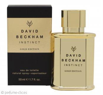 David Beckham Instinct Gold Edition Eau de Toilette 50ml Vaporizador