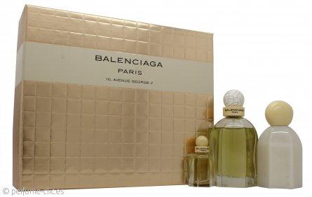 Cristobal Balenciaga Balenciaga Paris Set de Regalo 75ml EDP + 7.5ml EDP + 100ml Loción Corporal
