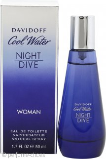 Davidoff Cool Water Night Dive Woman Eau de Toilette 50ml Vaporizador