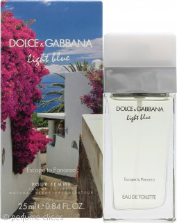 Dolce & Gabbana Light Blue Escape to Panarea Eau de Toilette 25ml Vaporizador