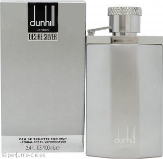 Dunhill Desire Silver Eau de Toilette 100ml Vaporizador