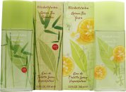 Elizabeth Arden Green Tea Set de Regalo 100ml EDT Vaporizador Green Tea Bamboo + 100ml EDT Vaporizador Green Tea Yuzu