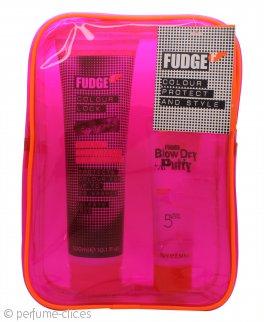 Fudge Colour Protect & Style Set de Regalo 300ml Champú Retención Color + 75ml Blow Dry Putty