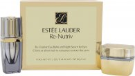 Estee Lauder Re-Nutriv Set de Regalo Recreación 15ml Bálsamo de Ojos + 4ml Serum Nocturno Ojos