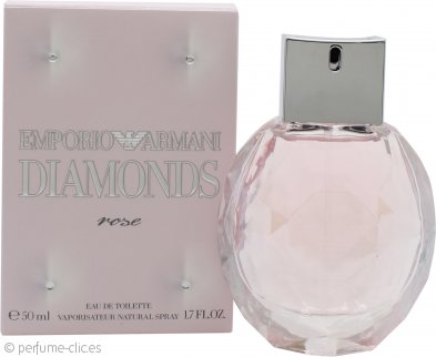 Giorgio Armani Emporio Diamonds Rose Eau de Toilette 50ml Vaporizador