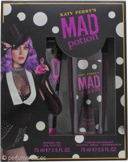 Katy Perry's Mad Potion Set de Regalo 75ml Gel de Ducha + 75ml Desodorante Vaporizador