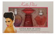 Katie Price Little Box of Love Set de Regalo 30ml Besotted EDP + 30ml Kissable EDP + 30ml Precious Love EDP