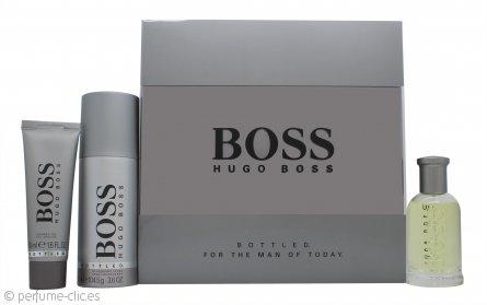 Hugo Boss Bottled Set de Regalo 50ml EDT + 50ml Gel de Ducha + 150ml Desodorante Vaporizador