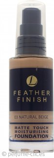 Lentheric Feather Finish Base Hidratante Toque Mate 30ml – Beige Natural 03
