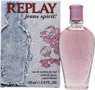Replay Jeans Spirit! for Her Eau de Toilette 60ml Vaporizador