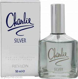 Revlon Charlie Silver Eau de Toilette 50ml Vaporizador