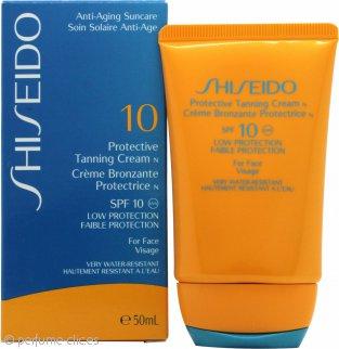 Shiseido Protective Tanning Crema 50ml FPS 10 Protección Baja para Cara