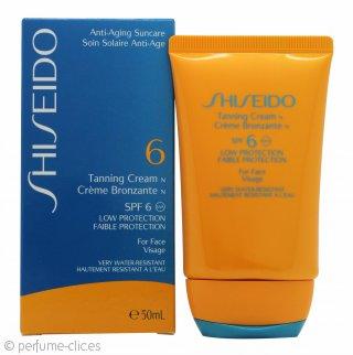 Shiseido Tanning Crema 50ml SPF6 Baja Protección para la Cara