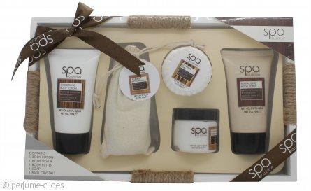 Style & Grace Spa Collection Regalos de Tranquilidad Baño y Cuerpo Set de Regalo - 5 Piezas