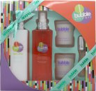 Style & Grace Bubble Boutique Set de Regalo Experiencia de Baño 250ml Rocío Corporal + 250ml Loción Corporal + 2 x 65g Velas + 15ml EDP Roller